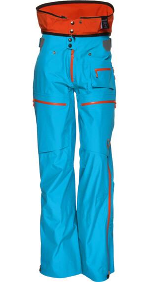 Norrøna W's Lofoten Gore-Tex Pants Caribbean blue